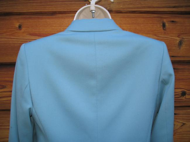 Pendleton Wool Petite Tiffany Onebutton Blue Blazer Image 4