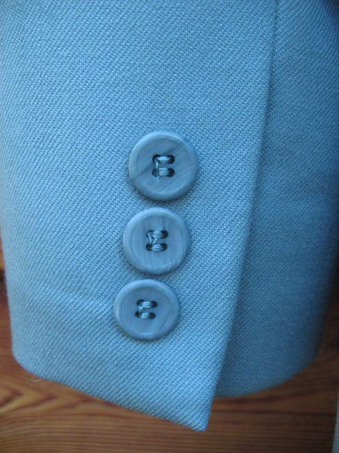 Pendleton Wool Petite Tiffany Onebutton Blue Blazer Image 5