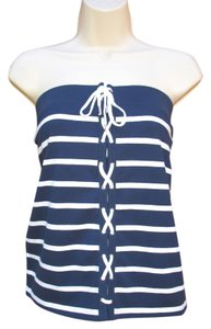 American Living Tube Nautical Top Blue White