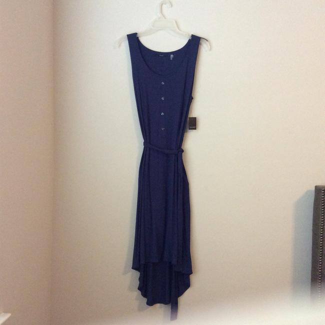 Blue Purple Royal Maxi Dress by Tahari