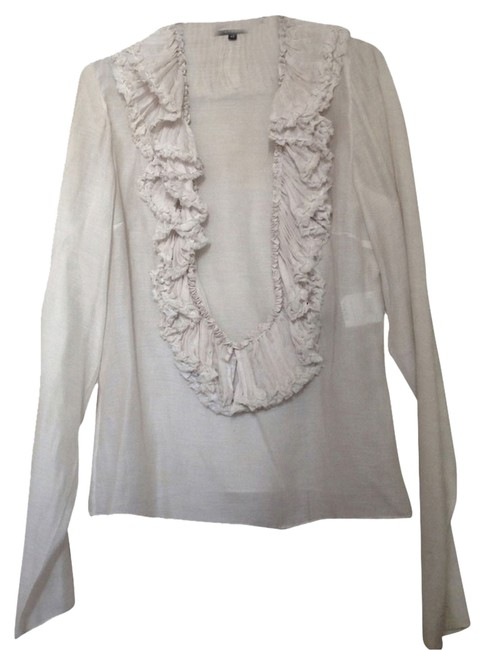 Preload https://item1.tradesy.com/images/gucci-light-grey-blouse-size-6-s-1450485-0-0.jpg?width=400&height=650