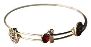 Colette Colette Red Crystal Evil Eye Hamsa Adjustable Bracelet.