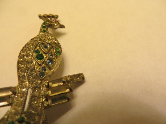Other Amazing Vintage Art Deco Peacock Pin