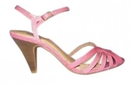 Preload https://img-static.tradesy.com/item/145051/alex-marie-pink-reptile-print-leather-sandals-size-us-85-0-0-540-540.jpg