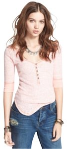 Free People T Shirt Spiced Coral