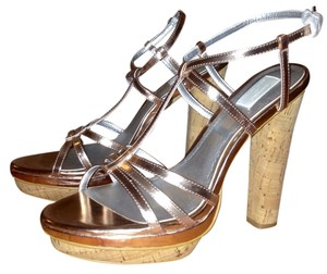 Ann Taylor Rose Gold Pumps