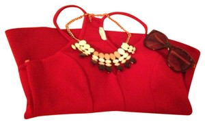 Charlotte Russe Top Dark Red