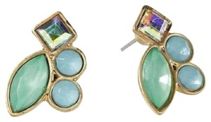 Pim + Larkin Gemstone Cluster Stud Earrings