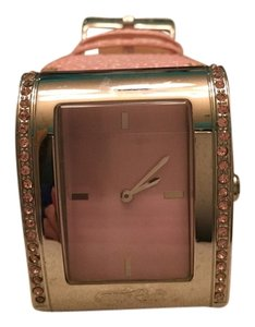 Marc Ecko Pink Crystal watch