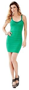 Guess short dress Green on Tradesy
