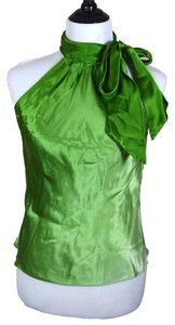 ECI New York Holiday Party Gradient Top green