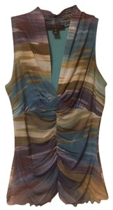 Weston Wear Tank Top Teal / Multi color