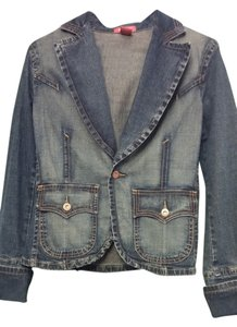 Blue Asphalt Blue Denim Blazer