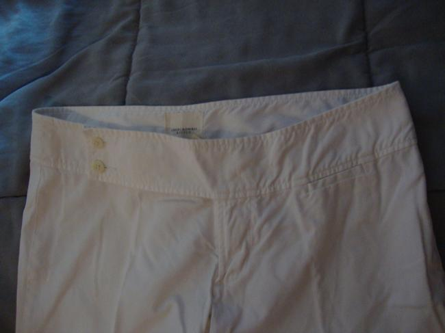 Abercrombie & Fitch Wide Leg Pants White