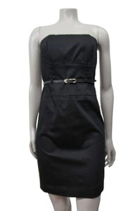 Black Halo Halo Olsen Strapless Mini Lbd Dress