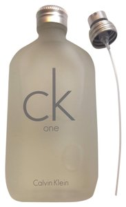 Calvin Klein New CK 1 one edt spray 3.4 fl.oz calvin klein brand new without box