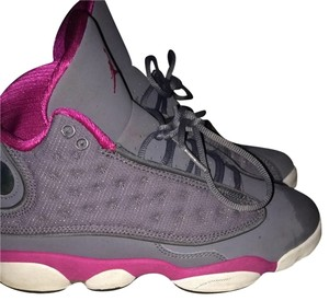 Air Jordan Pink And Grey Athletic