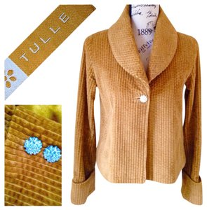 Tulle Golden Blazer
