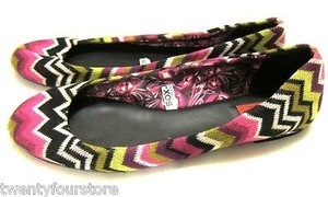 Missoni X Target Multi-Color Flats