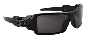 Oakley Oakley Black Oil Rig Sunglasses 03-460