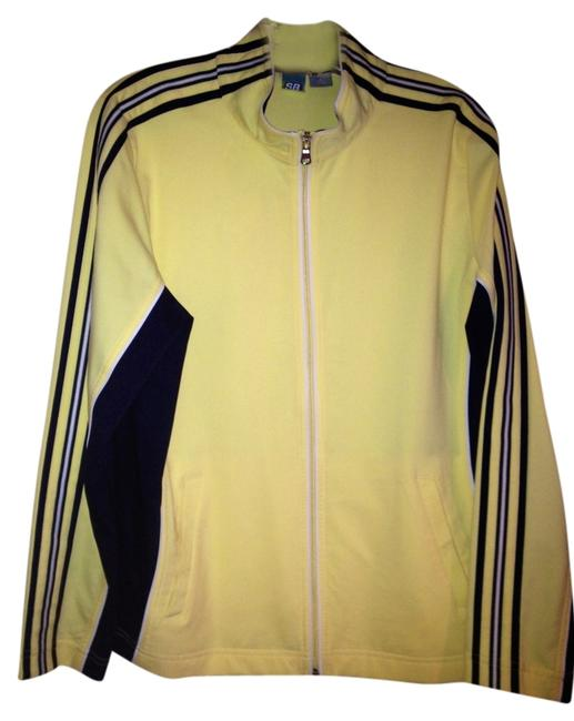 Item - Classic Yellow/Dark Blue Activewear Outerwear Size 14 (L, 34)