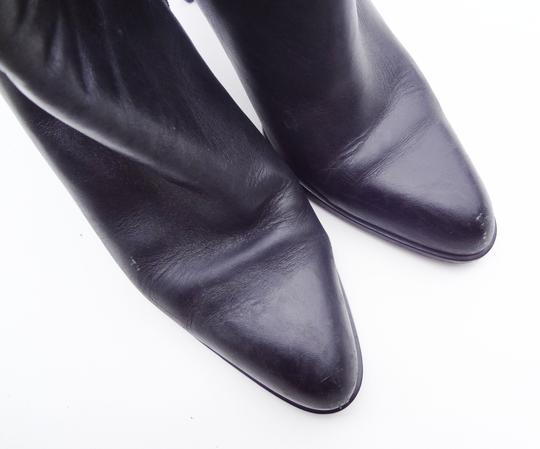 Innovations 1990s Leather Black Boots