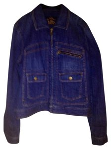 Ralph Lauren Classic Denim Blue Womens Jean Jacket