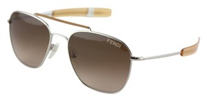 Fendi Fendi Tan Aviator Sunglasses FS5217L