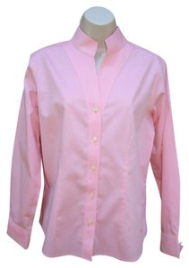 ORVIS Non-iron Wrinkle-free Top Peachy Pink