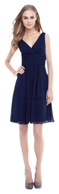 Item - Navy Style # 154 Knee Length Cocktail Dress Size 10 (M)