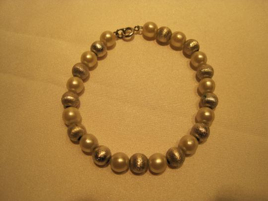 Other Pearl & Silver Bead Bracelet - [ Roxanne Anjou Closet ]