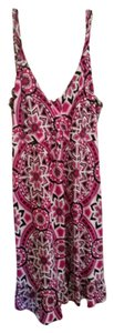INC International Concepts short dress Multi- pinks black on Tradesy