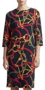 Ralph Lauren Bridle Print Dress