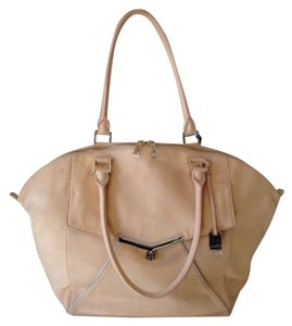 Botkier Leather Large Tote in Nude