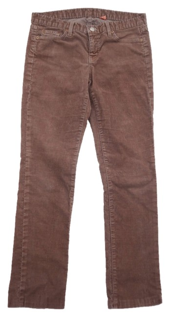 Item - Brown Medium Wash Skinny Matchstick Toothpick Straight Leg Jeans Size 29 (6, M)