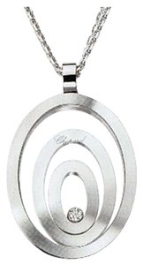 Chopard Chopard 18K White Gold Happy Spirit Diamond Necklace 795877