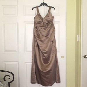 Bill Levkoff Taupe Dress