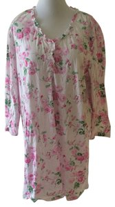 Ralph Lauren short dress Pink Pajamas Flannel Plus-size on Tradesy