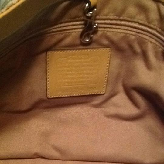 Coach Taupe Hobo Shoulder Bag