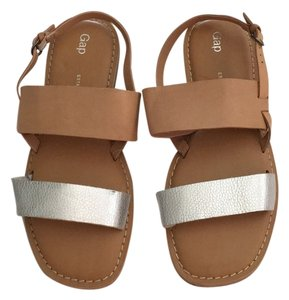 Gap Silver and black Sandals