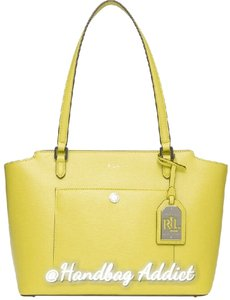 Ralph Lauren Stachels Tote in Citron