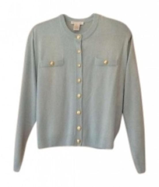 Preload https://item1.tradesy.com/images/aqua-soft-cozy-button-down-top-size-10-m-145190-0-0.jpg?width=400&height=650