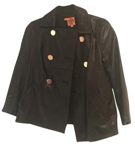 Tory Burch Black with Gold Buttons Jacket