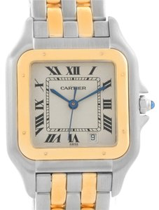 Cartier Cartier Panthere Large Steel 18K Yellow Gold 2 Row Watch W25028B8