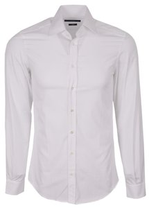 Gucci Men's Shirt Shirt Button Down Shirt White