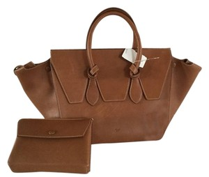 Céline Trapeze Toe Tote Chocolat Store Display Never Used Satchel in BROWN