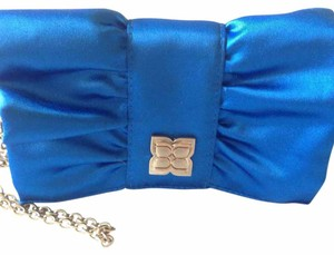 BCBGMAXAZRIA Blue Clutch