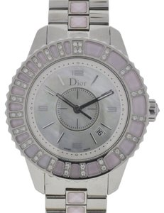 Dior Christian Dior CHRISTAL Stainless Steel Diamond Ladies Watch