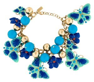 Kate Spade NEW Kate Spade Mariposa Butterfly Charm Bracelet NWT Style Worn by Emma Pillsbury on Glee