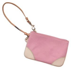 Coach Coach Small Pink Wristlet NWOT